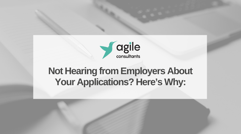 Not Hearing from Employers About Your Applications