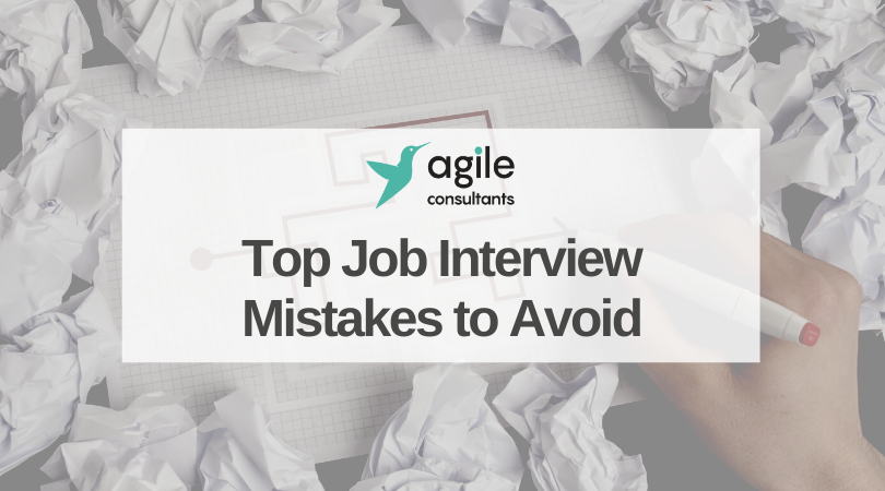 Top Job Interview Mistakes to Avoid